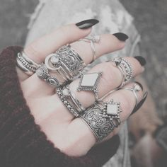 #Boho #Rings #Life #Girls