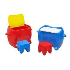 Playgrounds de Plástico Freso Brinquedos - Baú Mesa - Código: 20116 - Saiba como comprar, entre em contato 41 3079-7859.