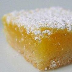 Low-Carb Sugar-Free Lemon Bars Recipe