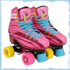 Patinando e Cantando: Mais imagens e informações sobre os patins de Sou Luna