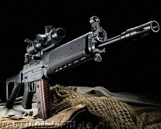 FULL STORY from the Special Weapons for M June issue: SIG SAUER 551-A1 5.56mm: Potent and dependable gas-piston rifle when maximum maneuverability is required!