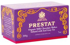 Prestat Ltd is one of London's oldest chocolate shops. It has been awarded two Royal Warrants: from Her Majesty The Queen and Her Late Majesty Queen Elizabeth The Queen Mother.
