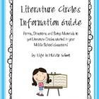 Want to try Literature Circles in your Middle School/Language Arts classroom, but don't know where to start?  This is a guide that will help you ge...