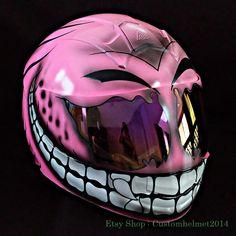 Pink Motorcycle, Motorcycle Helmet Design, Womens Motorcycle Helmets, Custom Paint Motorcycle, Motorcycle Style, Motorcycle Gear, Monster Motorcycle, Vintage Motorcycles, Custom Motorcycles