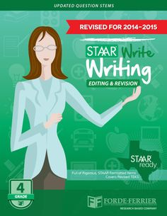 Texas STAAR Write Writing: Editing and Revision Workbook, Grade 4