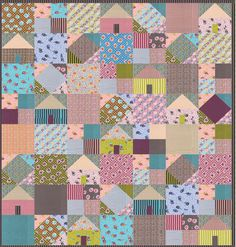 Pieced lap and throw. Fat quarter friendly. Suburbia Quilt Pattern AEQ-59 by Aunt Em's Quilts - Emily Bailey.  Check out our applique quilt patterns. https://www.pinterest.com/quiltwomancom/applique-quilt-patterns/  Subscribe to our mailing list for updates on new patterns and sales! http://visitor.constantcontact.com/manage/optin?v=001nInsvTYVCuDEFMt6NnF5AZm5OdNtzij2ua4k-qgFIzX6B22GyGeBWSrTG2Of_W0RDlB-QaVpNqTrhbz9y39jbLrD2dlEPkoHf_P3E6E5nBNVQNAEUs-xVA%3D%3D