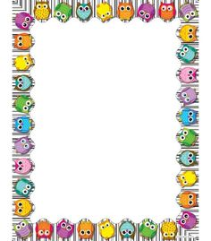 Use this whimsical, delightful Colorful Owls design to promote your classroom theme! So many uses to liven up projects, writing assignments, class newsletters and more! Add style to personalized awards, letters and lists--the possibilities are endless! Look for coordinating products in this design to create this popular classroom theme! Comes in 50 sheets per pack.