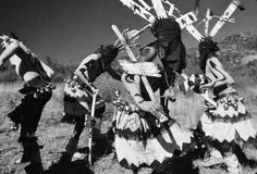 In the early the U. gov't banned our ritualistic practice of ceremonial dances, but in 1978 banned was lifted. As you see above is a White Mountain Apache crown dance being performed, in which mountain spirits banish evil and bring good fortune. Apache Native American, Apache Indian, Native American Symbols, Inuit People, Pow Wow, Nativity, Native Americans, Mountain, Dancers