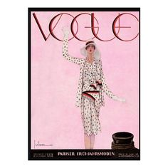 Vintage Illustrations Magazine Covers Vogue, Bazaar Others ❤ liked on Polyvore featuring backgrounds, mag covers, magazine cover, people and magazine