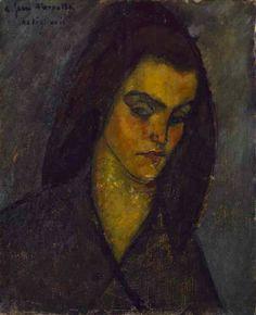 Modigliani, La mendiante, 1909