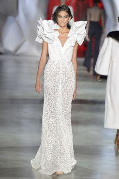 Ulyana Sergeenko Wedding Gown