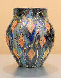 [Iridescent Pottery by Paul J. Katrich (1316)]
