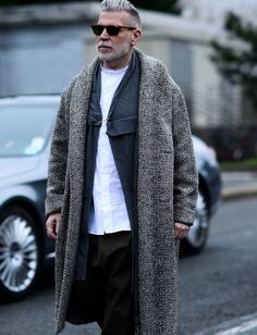 Pitti Moda - billy-george:   The eternal youth that is Nick...