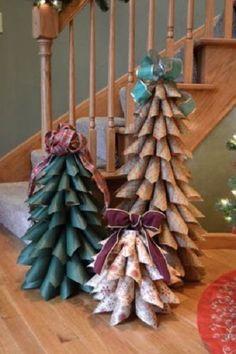 Christmas Bazaar Craft Ideas   Árbol de Navidad Eco   DECORACION DE INTERIORES