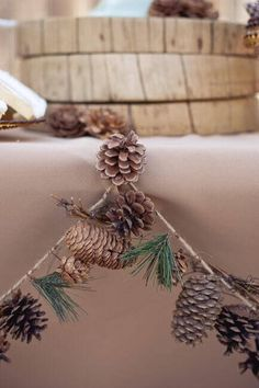 Pinecone Garland Decoration                                                                                                                                                                                 More