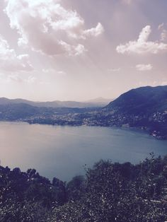 Lake Como, view from the hills above Blevio