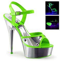 Pleaser DELIGHT-609NC Platform Sandals