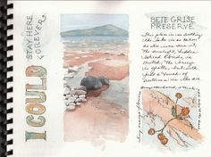 Illustrated Watercolor Journaling | Watercolor Journals