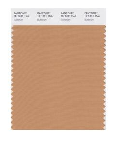 PANTONE 16-1341 Butterum This snug, warming, and toasty shade is evocative of drinking a glass of Butterrum by a roaring fire on a cool Fall evening.
