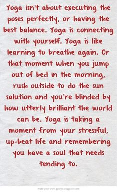 Yoga is SO MUCH MORE than asana. Yoga is returning to True Self. attending to body, mind and spirit… For everyone who asks me why I love yoga so much. Asana Yoga, Sanftes Yoga, Hot Yoga, Yoga Fitness, Fitness Quotes, Fitness Motivation, Motivation Quotes, Yoga Inspiration, Fitness Inspiration