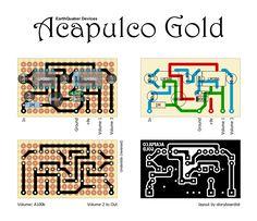 Acapulco Gold!  Tonally, it's based on a cranked Sunn Model T amp