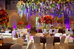 Floral heaven at a Fayetteville reception  Photography by: Danielle Davis Art/Photography