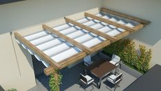 Outdoor Patio Designs, Outdoor Pergola, Backyard Pergola, Pergola Designs, Outdoor Patios, Diy Patio, Outdoor Rooms, Patio Ideas, Rooftop Terrace Design