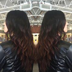 Black to brown ombre hair (First choice) Black To Brown Ombre Hair, Dark Brunette Balayage, Hairdo For Long Hair, Nailart, Hair Addiction, Henna Hair, Coral, Hair Highlights, Hair Day