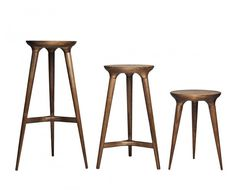 Inspired by the graceful arc of bare tree limbs, the CoventryStool's…
