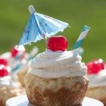 Giant Pina Colada Cookie Cups