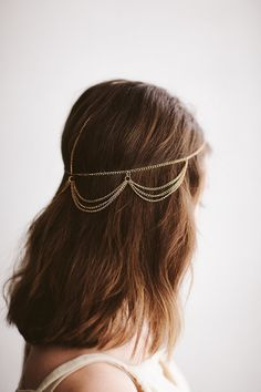 Golden Jewelry Crown by LaedaCo on Etsy