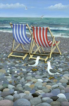 Deck Chairs Photograph  - Deck Chairs Fine Art Print
