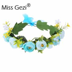 Find More Hair Accessories Information about 6pcs/lot Handmade Tea Rose Flower Tiaras Fabric Flower Crowns Woman Girls Hair Flower Garland Hair Accessories ,High Quality garland flower,China accessories dropship Suppliers, Cheap accessories software from Hair's Art Online Wholesale Store on Aliexpress.com