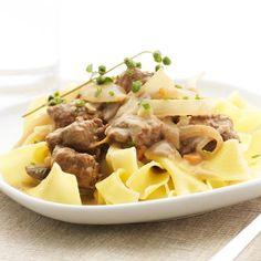 """"""" Meat-less Stroganoff """" #vegetarian #recipe"""
