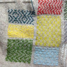visible mending by tomofholland - link to blogpost: http://tomofholland.com/2013/04/27/hello-amazing-jumper/