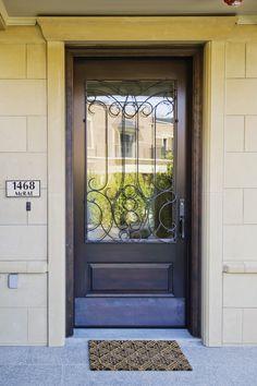 Beautiful Wood Front Door.