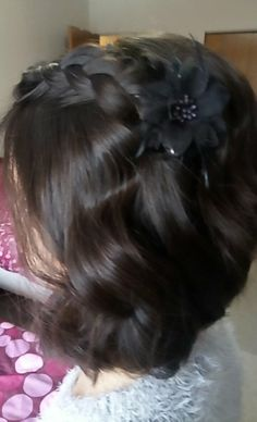 Braid and Curls Braids With Curls, Prom Hairstyles, Salons, How To Find Out, Hair Cuts, Bob, Long Hair Styles, Beauty, Haircuts