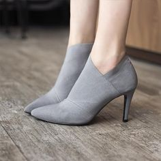 73ab3262c3a Women s Pointed Toe High Heel Ankle Boots. 105 Hillside