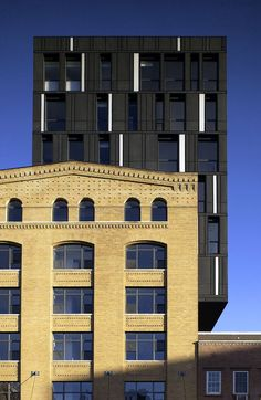 Our office co-developed this residential project in Manhattan's Meatpacking District. The design added four new floors to a six-story Romanesque brick wareho...