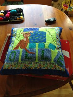 Pillow applique