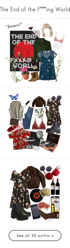 """The End of the F***ing World"" by tori-is-trash ❤ liked on Polyvore featuring Prada, Hollister Co., Hanky Panky, La Perla, PLANT, Nachtmann, LoveStories, Polaroid, Converse and RCA"