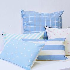Pillowcases for the summer by Sostrene Grene