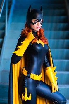 Batgirl cosplay by BirdsOfPlay Cosplay Dc, Batgirl Cosplay, Batgirl Costume, Superhero Cosplay, Marvel Cosplay, Cosplay Outfits, Best Cosplay, Cosplay Girls, Cosplay Costumes