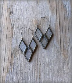 the Year of the Snake earrings by HartVariations on Etsy
