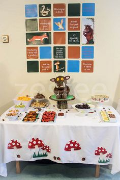 Gruffalo Party Table | Flickr - Photo Sharing!