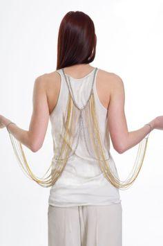 Sabine Body Chain Jewelry - Element 7 Body Chain Jewelry