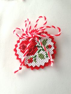 Baba Marta, 123 Cross Stitch, Talisman, Ribbon Embroidery, Embroidery Designs, Bulgarian, Flower Crafts, Gift For Lover, Stitch Patterns