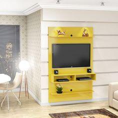 Painel para TV 1.1 Vega Amarelo