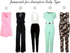 Your Guide to finding the Perfect Jumpsuit - Hourglass Shape