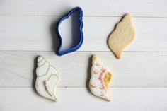 Etsy のLong shell cookie cutter(ショップ名:TheCookieCutterLand)